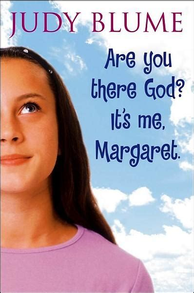 are you there god it s me margaret by judy blume book