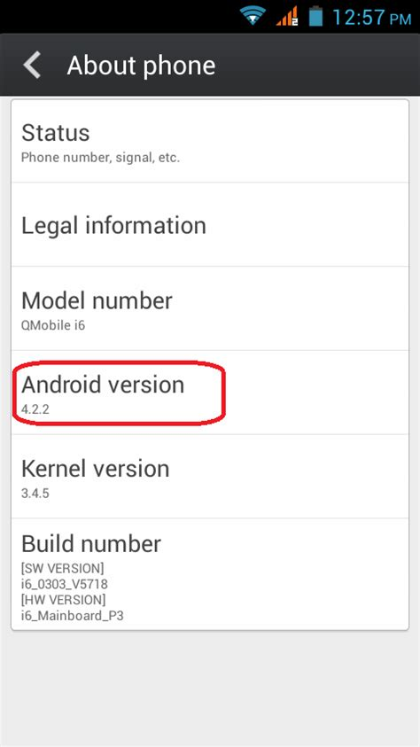 check android version how to check android version on your cell phone promazi