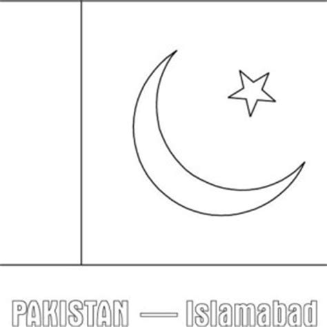 Pakistan Flag Coloring Page Pakistan Printable Coloring Pages by Pakistan Flag Coloring Page