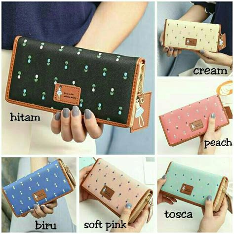 Jimshoney Wallet Import dompet dolly wallet wanita import jimshoney shopee indonesia