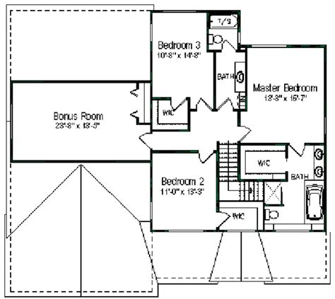 10 unique 3 bedroom colonial house plans floor and house colonial style house plan 3 beds 3 baths 2704 sq ft plan