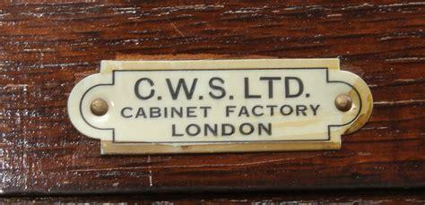 cws ltd cabinet factory bilder f 246 r 102356 kl 196 dsk 197 p art deco cws ltd cabinet