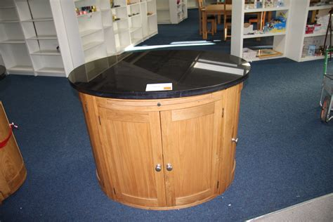 small oval island granite top large oval granite top island kitchen unit approx 116cm x