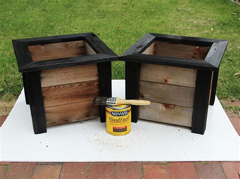 Wooden Step Planter by Give A Weathered Planter A Fresh Facelift How Tos Diy