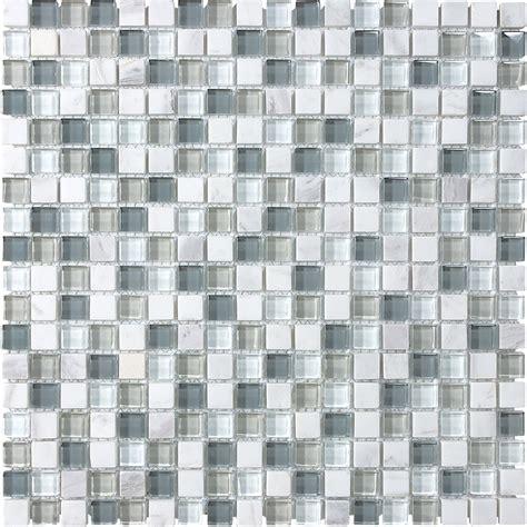 marble mosaic tile shop allen roth venatino uniform squares mosaic stone