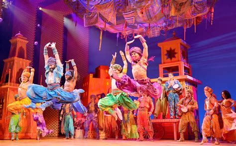 Ljleisure aladdin the musical sold out
