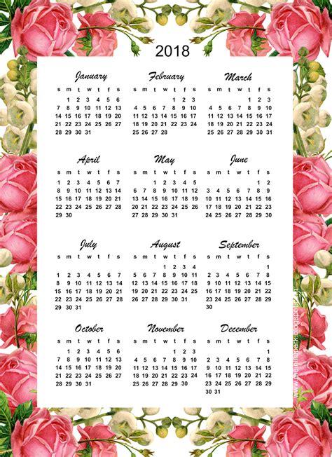 free printable flowers pinterest free printable 2018 calendar rose calendar calendar