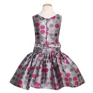 Silver accent rosette christmas dress girl 7 16 sophiasstyle com