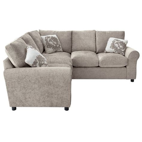 buy corner sofa online buy home tessa dual facing corner sofa mink at argos co