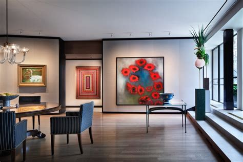 new dream house experience 2016 interior design magazines new york penthouse loft displays a beautiful collection of art