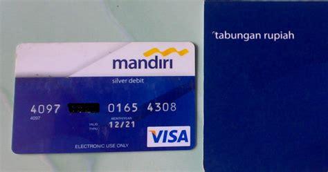 syarat membuat kartu atm  mandiri infoperbankancom
