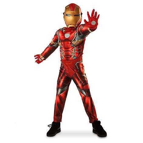 iron man costume kids