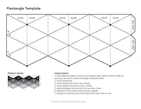 printable flex flextangle template printables template ortaokul matematik
