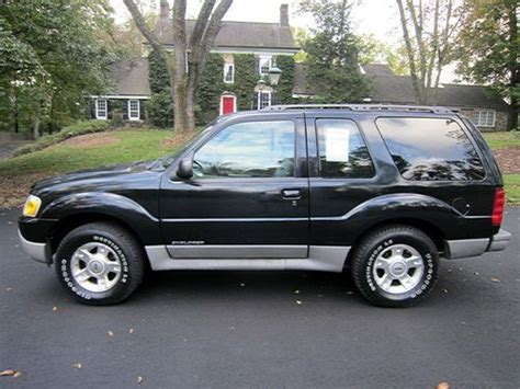 2 Door Explorer by Buy Used No Reserve 2001 Ford Explorer Sport Sport Utility