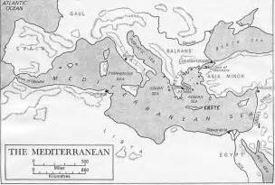 The Mediterranean And Middle East Chapter 3 Outline by Printable Mediterranean Sea Maps
