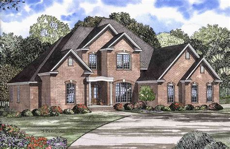 two story house plan 59433nd 1st floor master