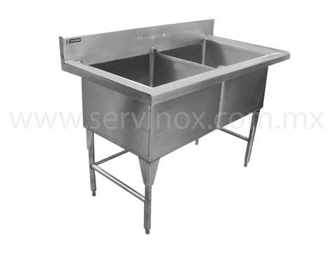 fregadero industrial acero inoxidable fregaderos para ollas dos tarjas en acero inoxidable para