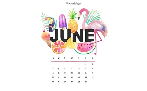 june  calendar tech pretties dawn nicole designs