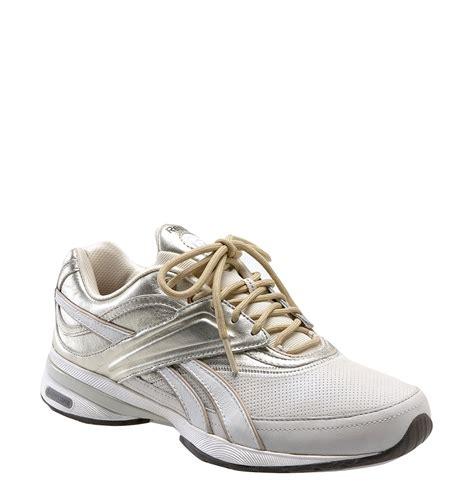 reebok walking shoes reebok easytone reinspire walking shoe in white