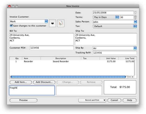 top 5 free invoice software for mac