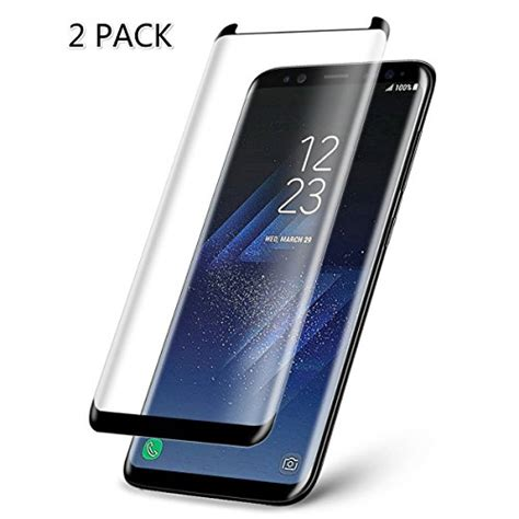 Mocolo Tempered Glass 3d Smallversion Samsung Galaxy S8 Plus Black 2 pack galaxy s8 plus tempered glass screen protector import it all