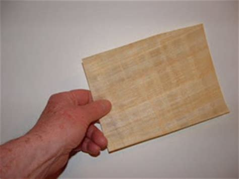 How To Make Paper Out Of Papyrus - papyrus basics papyrus crafts