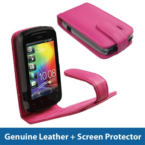 Hp Htc A310e pink leather for htc explorer android smartphone cover holder bumper a310e ebay