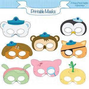 animal printable masks cartoon masks printable masks