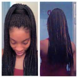 pony hair box braids box braid style poetic justice high ponytail love me
