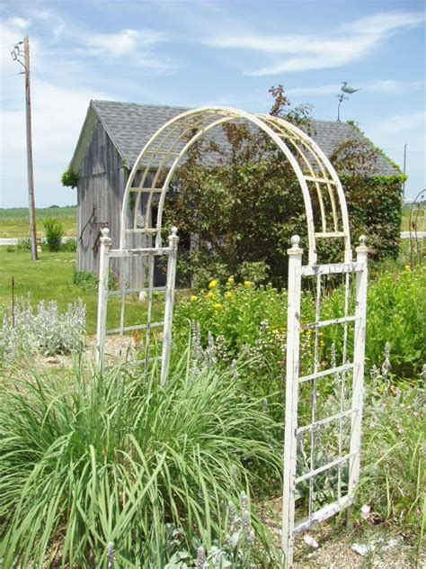 Vintage Rustic Home Decor by Wrought Iron Arbors Amp Arches