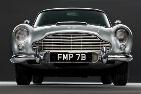 The Car James Bond S Original 007 Aston Martin Db5 Up