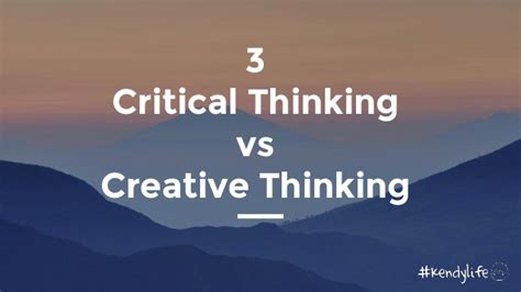 design thinking vs critical thinking youth in critical thinking vs creative thinking