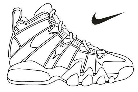 Jordan Shoes Coloring Pages Coloring Home Air Jordan Coloring Book L