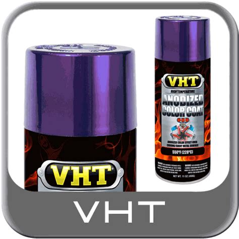 vht anodized color coat high temp anodized purple 11 oz spray can