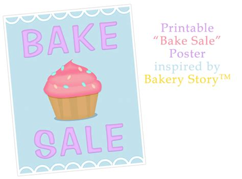 free bake sale flyer templates free printable bake sale flyers cliparts co