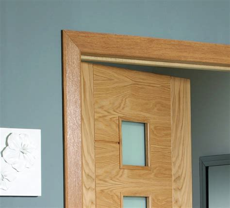 Modern Home Doors modern oak door architrave pre finished profile