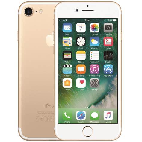 Apple Iphone 7 32 Gb Smartphone Gold smartphone apple iphone 7 32 gb mn902et a