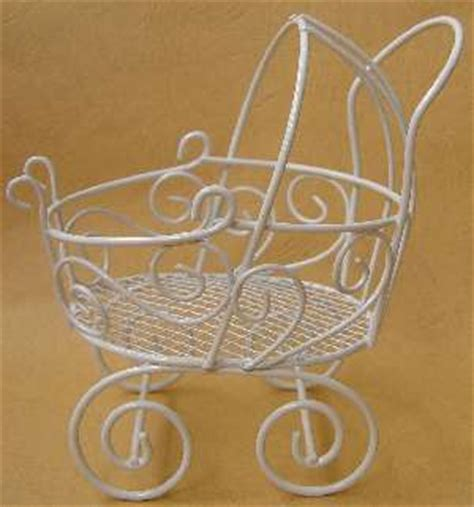 Baby Carriage Centerpieces For Baby Shower Sorepointrecords Wire Baby Stroller Centerpieces