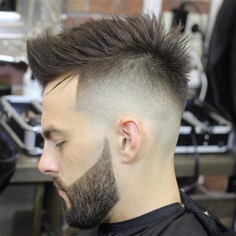 pictures of nice faded punk haircuts 46 fade haircuts for men new for winter 2018