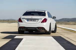 Mercedes 563 Amg Official 2018 Mercedes Amg S63 And S65 Facelift Gtspirit