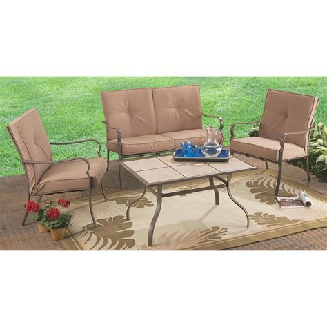 4 pc patio sofa set 173481 patio furniture at