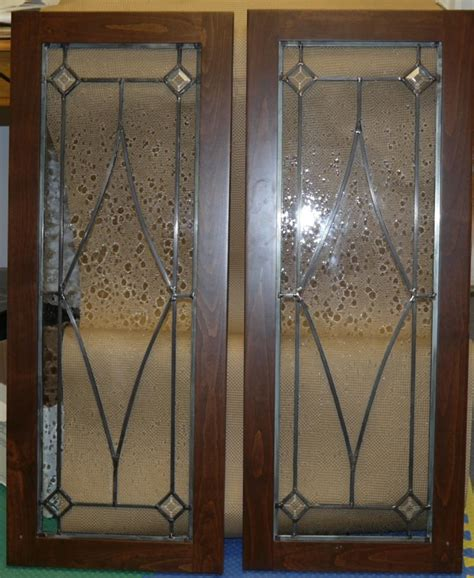 Stained Glass Cabinet Doors Blue Mountain Stained Glass Leaded Glass Cabinet Door Designscall 828 275 5971