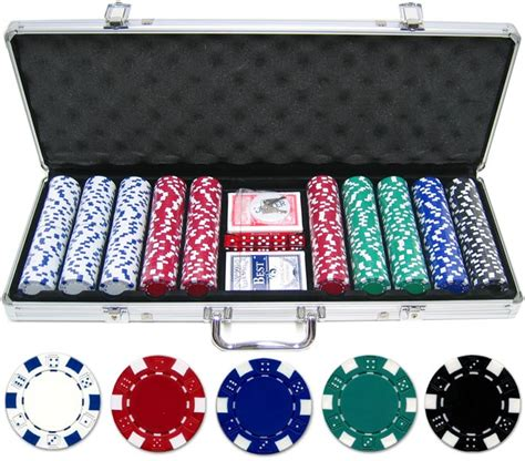Set Cardi Pokego 500 11 5g dice chip set p 6