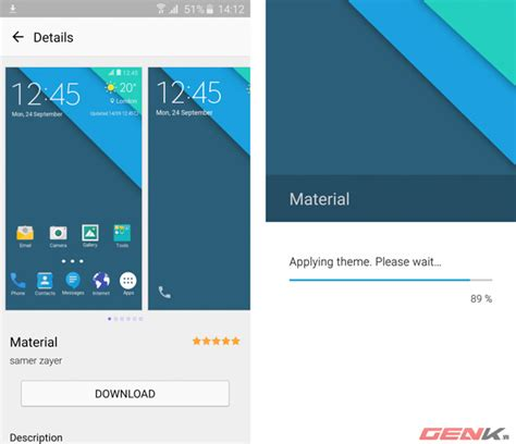 material themes s6 edge mang giao diện material design l 234 n samsung galaxy s6 v 224 s6