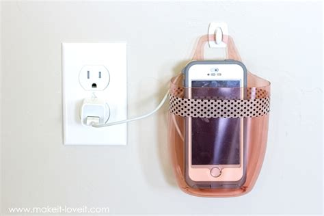 cell phone holder charger charging cell phone holder from a plastic bottle