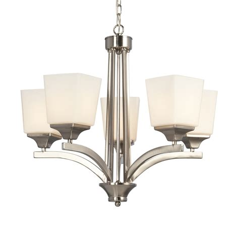Galaxy Lighting 812803bn Newburry 5 Light Chandelier Lowes Chandeliers