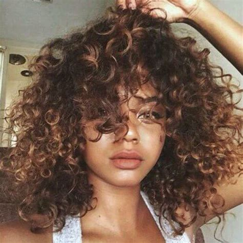 naturally thick black curly hair styles with bayalage color 52 gorgeous balayage hair color styling ideas hair