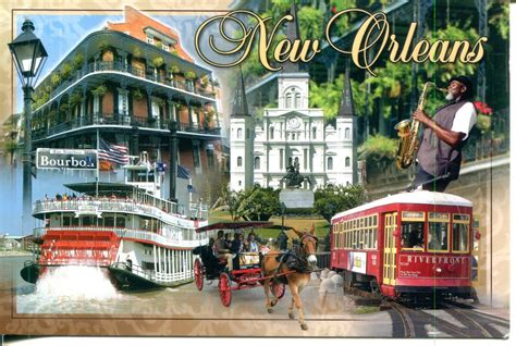 collect ROC: USA Postcard: New Orleans