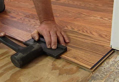 Diy Laminate Flooring Installation Install Laminate Wood Flooring Yourself The Diy