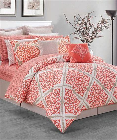coral bedding sets best 25 coral bedroom ideas on grey and coral